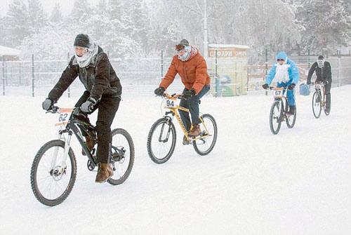 Liều lĩnh & điên rồ: Đua xe đạp ở -40 độ C - 1