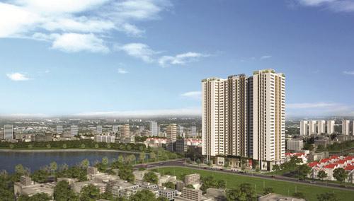 """Dự án Park View Tower sắp đến ngày """"về đích"""" - 1"""