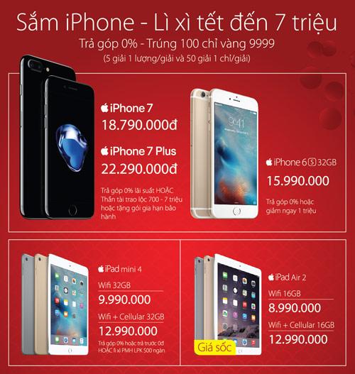 Sắm iPhone – lì xì tết đến 7 triệu đồng - 2