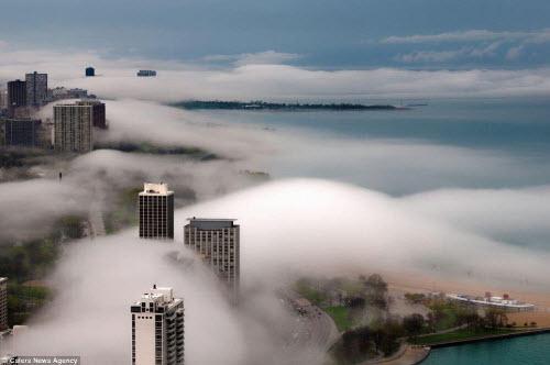 Những thành phố mù sương đẹp ma mị trên thế giới - 5