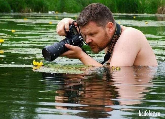 """Nhiếp ảnh gia  """" hi sinh """"  vì nghệ thuật."""