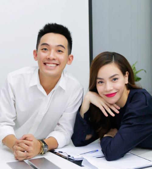 Hà Hồ đóng phim hài Tết cùng vợ Trấn Thành - 2