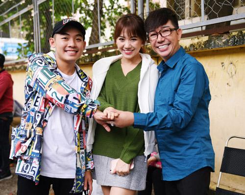 Hà Hồ đóng phim hài Tết cùng vợ Trấn Thành - 3