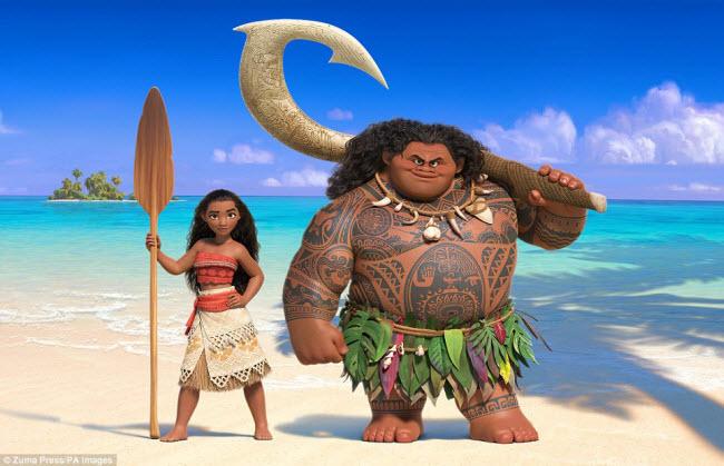 Bộ phim hoạt hình Moana của hãng Disney được lấy bối cảnh tại các hòn đảo đẹp như mơ ở Thái Bình Dương bao gồm Samoa, Bora Bora, Tetiaroa, Tahiti và Fiji. Hãy cùng khám phá vẻ đẹp của một số địa điểm này.