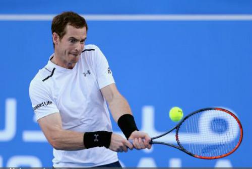 "Murray - Goffin: ""Ngã ngựa"" bất ngờ (BK Mubadala World Tennis Championships) - 1"