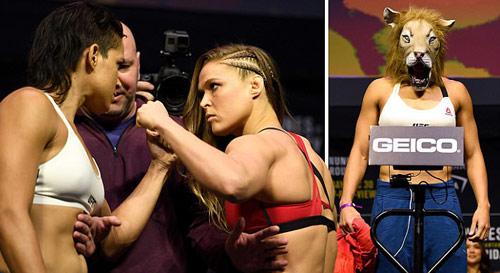 Chi tiết Ronda Rousey - Amanda Nunes: Tấn công vũ bão (KT) - 12