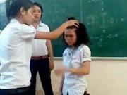Tin tức trong ngày - Hà Nội: Giáo viên cho cả lớp tát vào mặt một học sinh