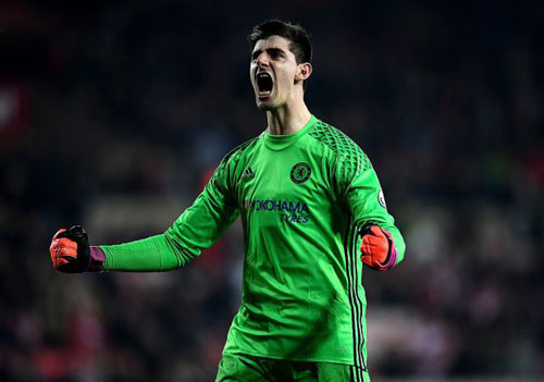 Chelsea: Conte tâng bốc Courtois, cự tuyệt Real - 1