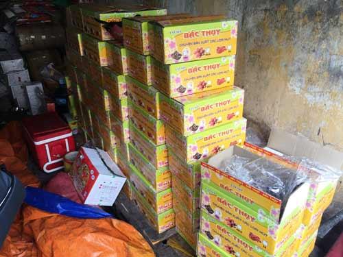 Phát hiện nhiều tấn mứt bẩn ở Sài Gòn chuẩn bị bán ra thị trường - 6