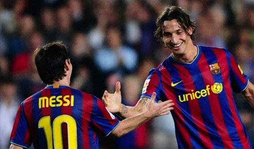Ibra từng chê Ronaldo giờ bái phục trước Messi - 1