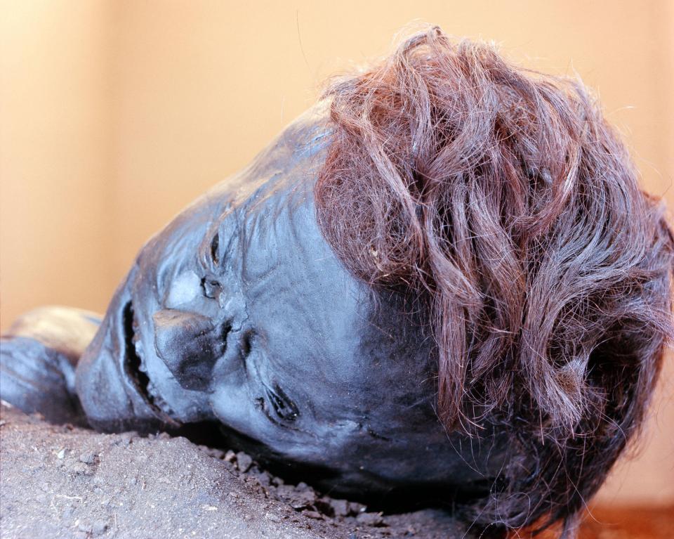 Bí ẩn loạt xác ướp 2.000 năm vẫn nguyên da và nội tạng - 3