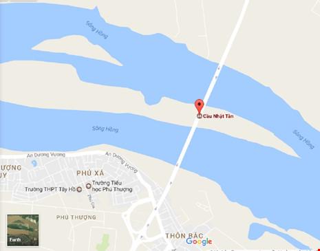 Tai nạn liên hoàn, người ngã la liệt trên cầu Nhật Tân - 2
