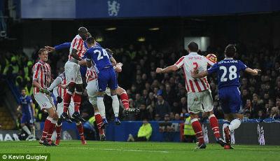 Chi tiết Chelsea - Stoke: Dập tắt hy vọng (KT) - 4