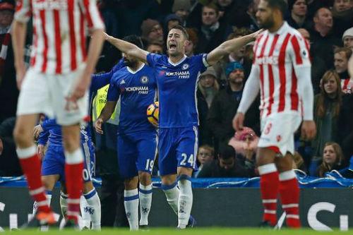 """Chelsea - Stoke City: """"Đại tiệc"""" 6 bàn chào năm cũ - 1"""