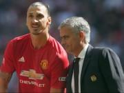 Bóng đá - Mourinho không mơ vô địch, lo MU gặp họa vì... Ibra