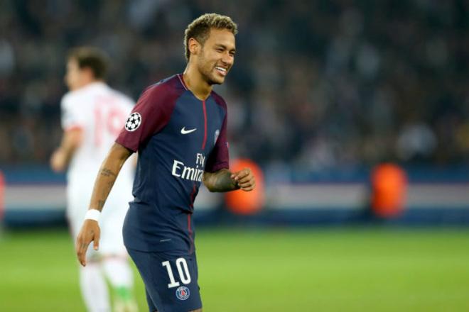 """PSG thắng to: Tuổi 25 - Neymar lập kỷ lục 300, """"làm lành"""" với Cavani - 1"""