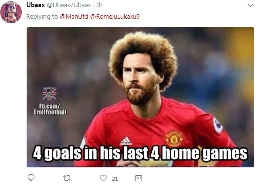 MU hủy diệt Crystal Palace: Triệu fan ngó lơ Lukaku, ví Fellaini với Zidane, Pele - 6