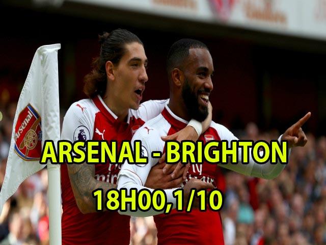 Arsenal – Brighton: Họng súng tử thần chờ tân binh