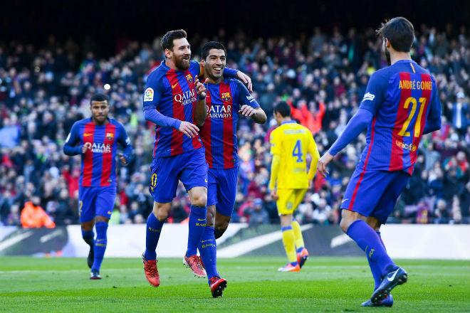 """Barcelona - Las Palmas: Messi """"nghiện"""" ghi bàn, hủy diệt tý hon - 1"""