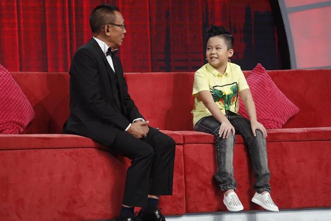 """MC Lại Văn Sâm bị cậu bé 10 tuổi phê bình vì """"tư duy thiếu logic"""" - 1"""