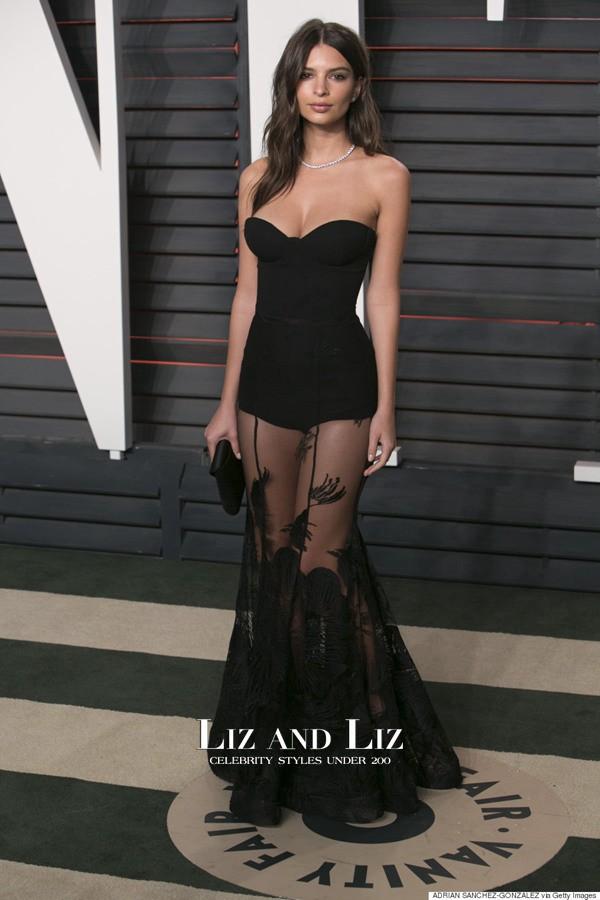 """Váy trễ tràng """"nóng mắt"""" của mỹ nữ có vòng 1 đẹp nhất thế giới - 7"""