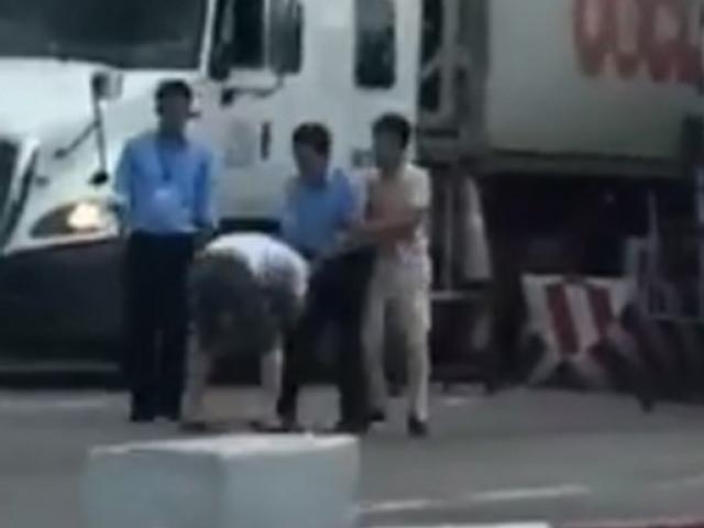 Đình chỉ 3 nhân viên hành hung tài xế xe tải trốn phí BOT - 2