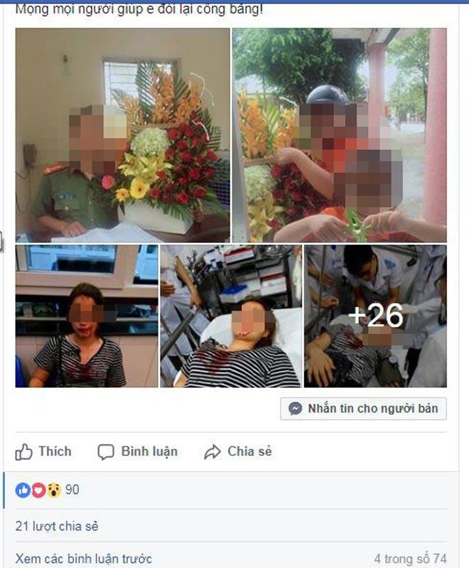 Sự thật cô gái bị công an đánh vì từ chối tình cảm - 2