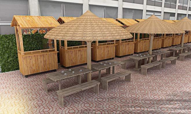 """Phố hàng rong thứ 2 tại """"vị trí vàng"""" ở Sài Gòn sẽ hoạt động vào ngày 2/10 - 2"""