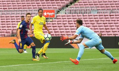 Chi tiết Barcelona - Las Palmas: Suarez mừng hụt cuối trận (KT) - 3