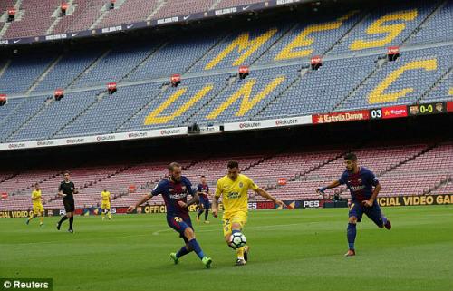 Chi tiết Barcelona - Las Palmas: Suarez mừng hụt cuối trận (KT) - 4