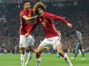 """Bóng đá - MU hủy diệt Crystal Palace: Lập hàng tá kỷ lục, Fellaini đòi """"đấm gục"""" Liverpool"""