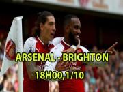 Bóng đá - Arsenal – Brighton: Họng súng tử thần chờ tân binh
