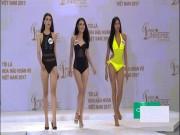 Thời trang - Cận cảnh phần thi áo tắm sexy của thí sinh Hoa hậu Hoàn vũ VN