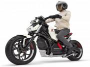 Thế giới xe - Chi tiết môtô điện tự cân bằng Honda Riding Assist-e