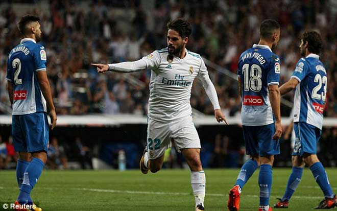 Real Madrid - Espanyol: Đôi chân ma thuật, cú đúp ngất ngây - 1