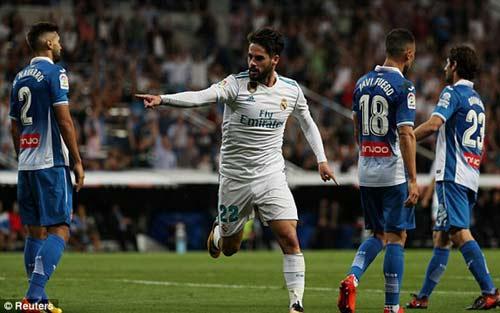 Chi tiết Real Madrid - Espanyol: Phút giây nhàn hạ (KT) - 4