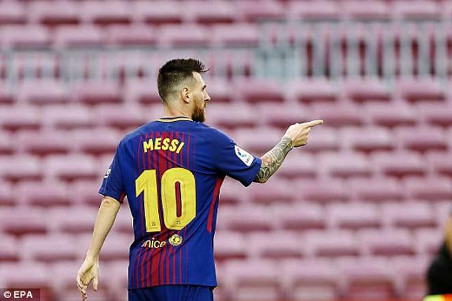 Messi siêu bùng nổ, Ronaldo tệ nhất La Liga - bất hòa với bố đã mất - 3