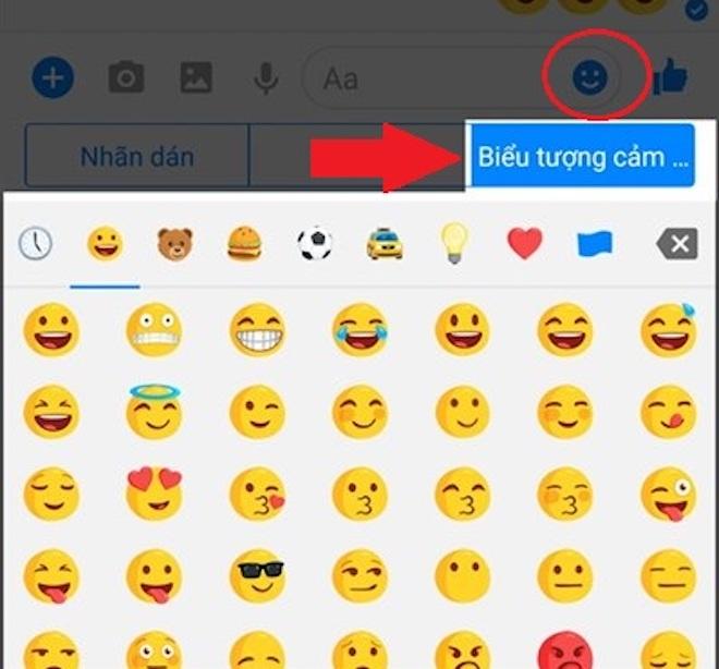 Hướng dẫn gửi icon cảm xúc Facebook to hơn thường lệ - 1