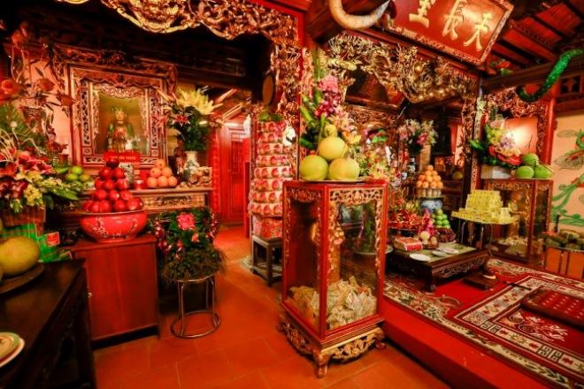 Bộ sưu tập đồ cổ trong phủ thờ Tổ rộng 1.000m2 của diễn viên hài Vượng râu - 4