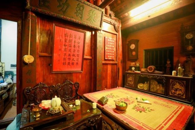 Bộ sưu tập đồ cổ trong phủ thờ Tổ rộng 1.000m2 của diễn viên hài Vượng râu - 8