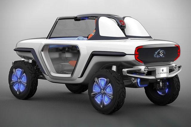 Suzuki e-Survivor lộ diện, sẽ ra mắt ở Tokyo Motor Show 2017 - 2