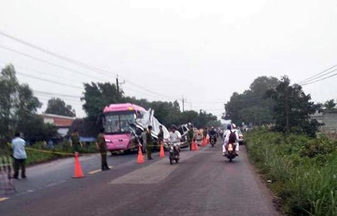 Tai nạn 6 người chết ở Tây Ninh: Buồn ngủ, tài xế đã chạy bao nhiêu Km/h? - 2