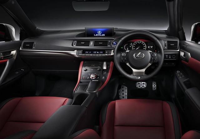 Lexus CT200h 2017 ra mắt, giá 1,37 tỷ đồng - 3