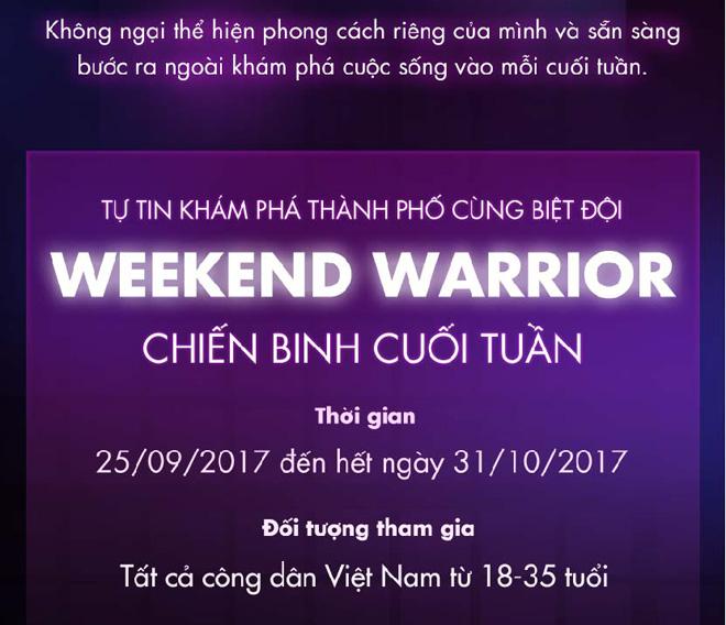 Cuối tuần thêm sôi động với Hội Chiến binh cuối tuần #WeekendWarriors - 2