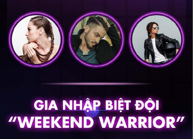 Cuối tuần thêm sôi động với Hội Chiến binh cuối tuần #WeekendWarriors - 3
