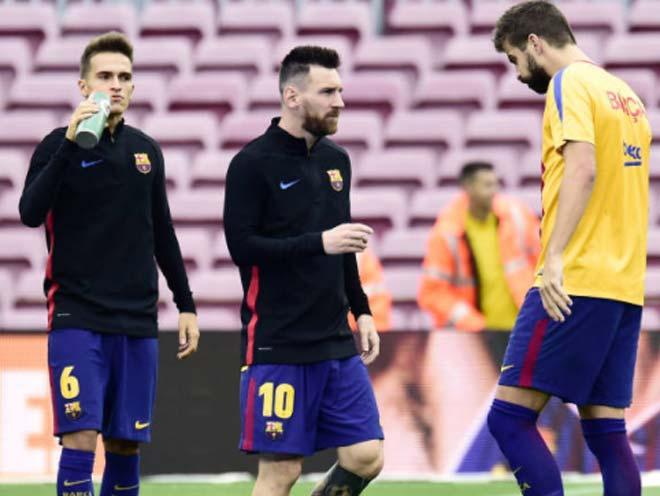 Barca sôi sục, Catalunya đòi độc lập: Messi tham bóng Vàng, bất đồng Pique - 1