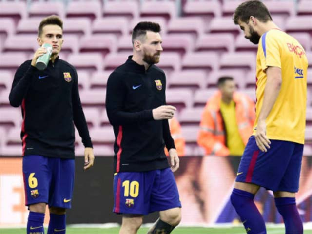 Barca sôi sục, Catalunya đòi độc lập: Messi tham bóng Vàng, bất đồng Pique