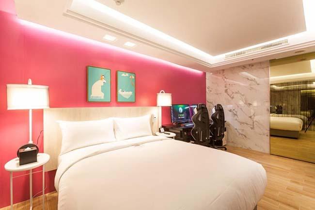 """Ảnh: Khách sạn """"ngàn sao"""" như thiên đường cho game thủ ở Đài Loan - 10"""