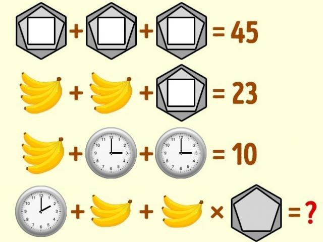 5 câu đố truy tìm thiên tài bẩm sinh trong 20 giây