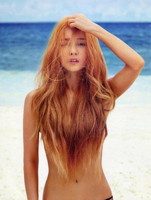 Loạt mỹ nữ hàng đầu xứ sở Kim Chi cởi đồ, lộ hình thể đẹp không tỳ vết - 1
